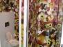 Grinte folie + wandprint -Project van der Valk Houten